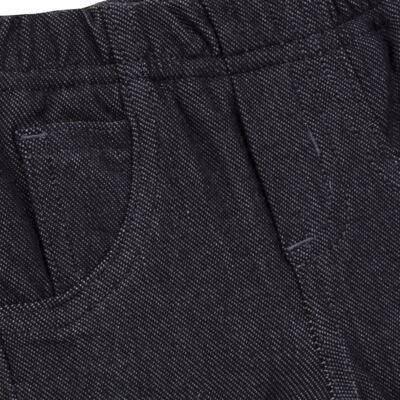 Imagem 6 do produto Calça para bebe forrada em fleece & pelúcia Dark Denim - Mini & Classic - CLCF4169 CALÇA C/ FORRO FLEECE/ MAL PUG-2