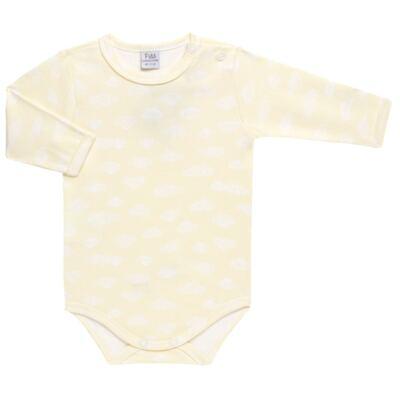 Imagem 3 do produto Pack 2 Bodies longos para bebe em suedine Ursinho - Petit - 10424346 PACK 2 BODIES M/L SUEDINE URSO NEUTRO-GG