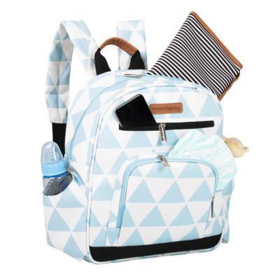 Imagem 6 do produto Mala maternidade Vintage + Bolsa Everyday + Frasqueira térmica Emy + Mochila Noah Manhattan Azul - Masterbag
