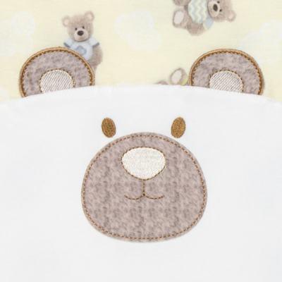 Imagem 3 do produto Macacão regata para bebe em viscomfort Ursinho - Petit