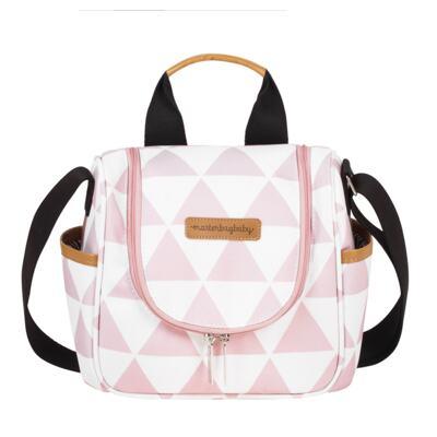 Imagem 4 do produto Mala maternidade Vintage + Bolsa Everyday + Frasqueira Emy Manhattan Rosa - Masterbag