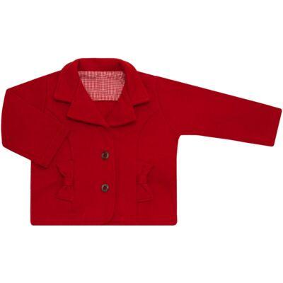 Imagem 1 do produto Casaco Trench Coat em moletom Vermelho - Bibe