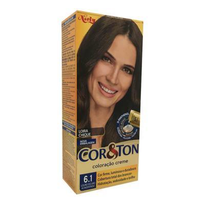 Coloração Cor & Ton Louro Escuro Acinzentado 6.1