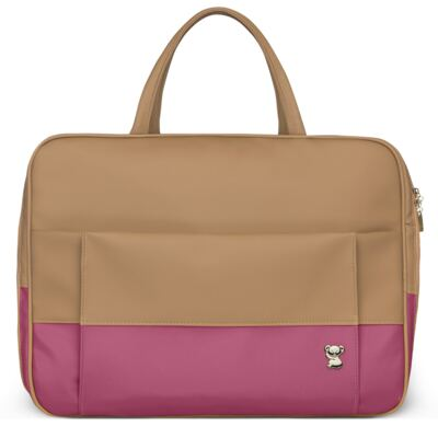 Imagem 2 do produto Mala Maternidade para bebe + Bolsa Genebra + Frasqueira Térmica Zurique Due Colore Pink - Classic for Baby Bags