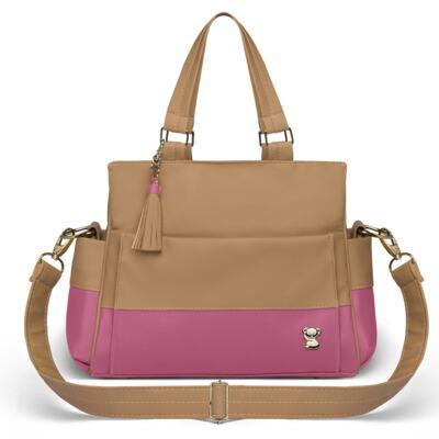 Imagem 3 do produto Mala Maternidade para bebe + Bolsa Genebra + Frasqueira Térmica Zurique Due Colore Pink - Classic for Baby Bags