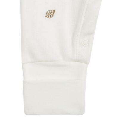 Imagem 3 do produto Macacão com Casaco para bebe em algodão egípcio c/ jato de cerâmica e filtro solar fps 50 Nature Little Friend Bear - Mini & Kids - CJMC0001.18 CONJ.MACACÃO C/CASACO METELASSÊ-SUEDINE-P