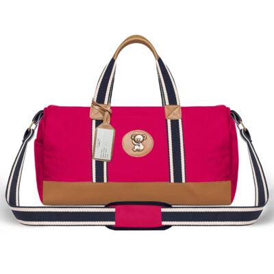 Imagem 2 do produto Bolsa Passeio para bebe + Bolsa Albany + Frasqueira Térmica Gold Coast em sarja Adventure Pink - Classic for Baby Bags
