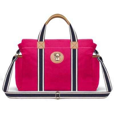 Imagem 3 do produto Bolsa Passeio para bebe + Bolsa Albany + Frasqueira Térmica Gold Coast em sarja Adventure Pink - Classic for Baby Bags
