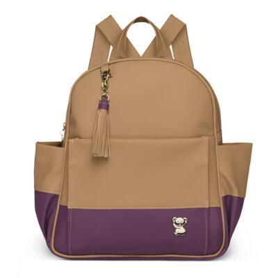 Imagem 2 do produto Mochila maternidade Davos + Necessaire Due Colore Uva -  Classic for Baby Bags