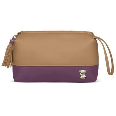 Imagem 3 do produto Mochila maternidade Davos + Necessaire Due Colore Uva -  Classic for Baby Bags