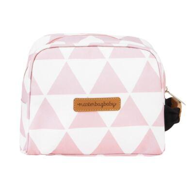 Imagem 7 do produto Mala maternidade Vintage + Bolsa Everyday + Frasqueira térmica Emy + Mochila Noah + Necessaire Manhattan Rosa - Masterbag