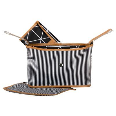 Imagem 5 do produto Bolsa 4 em 1 Sofia + Frasqueira térmica Emy + Frasqueira Organizadora Manhattan Azul - Masterbag