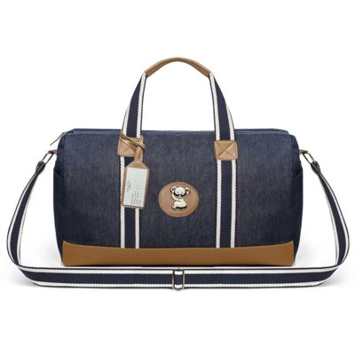 Imagem 2 do produto Bolsa Passeio para bebe + Bolsa Albany +  Frasqueira Térmica Gold Coast Adventure Jeans - Classic for Baby Bags