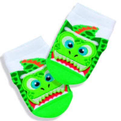 Imagem 1 do produto Meia Soquete para bebe Verde Crocodile  - Puket