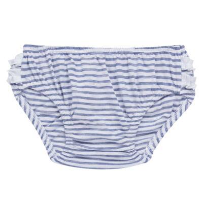Imagem 6 do produto Vestido com Calcinha para bebe em malha Navy - Tilly Baby - TB168201 CONJ FEMININO VESTIDO C/ CALCINHA LISTRADO-1