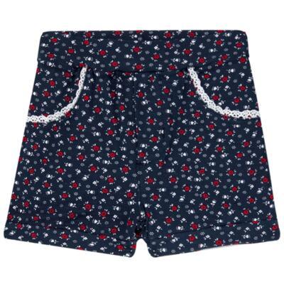 Imagem 3 do produto Body regata c/ Shorts para bebe em cotton Liberty - Mini Sailor - 17374443 CONJ. BODY C/SHORTS COTTON VERMELHO-6-9