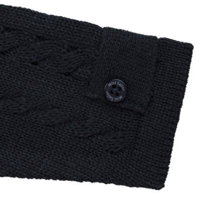 Imagem 3 do produto Casaquinho para bebe em tricot trançado Marinho - Mini Sailor - 75464262 CASAQUINHO C/GOLA TRANÇADO TRICOT MARINHO-9-12