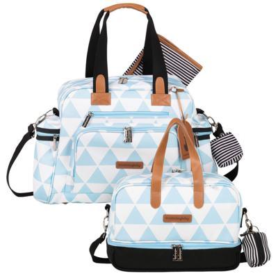 Imagem 1 do produto Bolsa Everyday + Frasqueira térmica Vicky Manhattan Azul - Masterbag