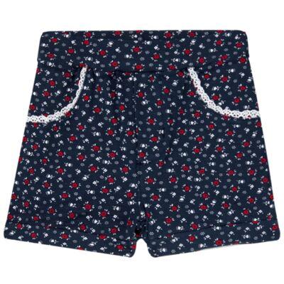 Imagem 3 do produto Body regata c/ Shorts para bebe em cotton Liberty - Mini Sailor - 17374443 CONJ. BODY C/SHORTS COTTON VERMELHO-3-6