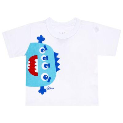 Imagem 2 do produto Conjunto de Banho Monstrinhos: Camiseta + Sunga - Cara de Criança