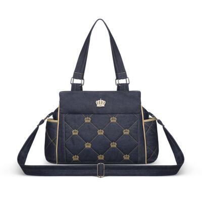 Imagem 3 do produto Bolsa Elizabeth + Bolsa Térmica Elizabeth para bebe Queen Jeans - Classic for Baby Bags