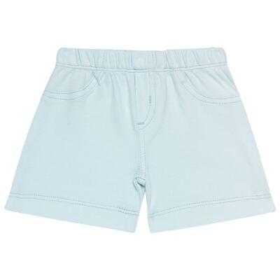 Imagem 1 do produto Bermuda em Pima Cotton Supreme Azul - Mini & Kids - BMAV0001.63 BERMUDA AVULSA - SUEDINE-GG