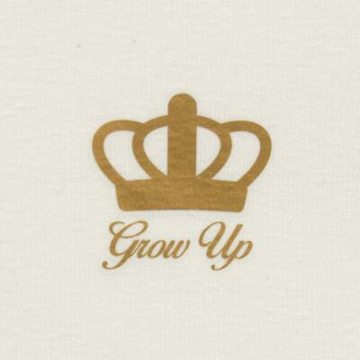 Imagem 2 do produto Blusinha para bebe em cotton Marfim - Grow Up - 03170111.0004 BLUSA BASIC ML CREME-G