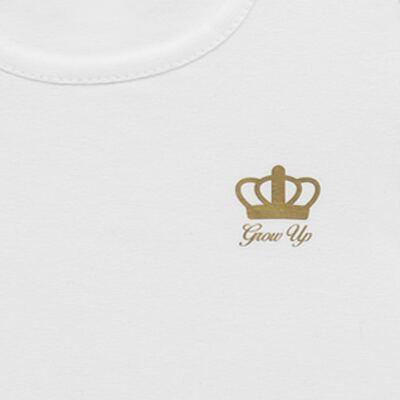 Imagem 2 do produto Blusinha para bebe em cotton Branca - Grow Up - 03170111.0001 BLUSA BASIC ML BRANCO-P