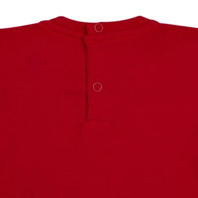Imagem 3 do produto Blusinha longa em cotton Vermelha  - Missfloor - 58LB0003.311 BLUSINHA M/L - COTTON-3