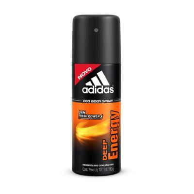 Desodorante Aerosol Adidas Deep Energy para o corpo 150ml
