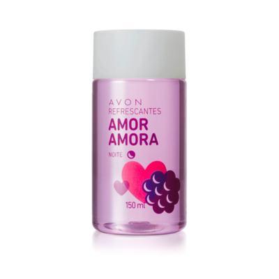 Colônia Deo Desodorante Refrescante Amor Amora Splash- 150ml