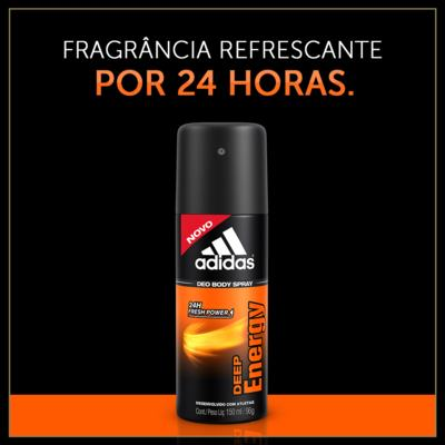 Imagem 2 do produto Desodorante Aerosol Adidas Deep Energy para o corpo 150ml