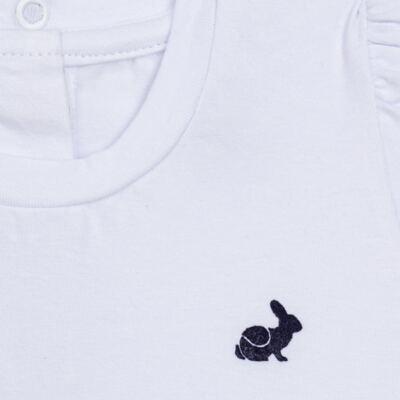Imagem 2 do produto Blusinha longa em cotton Branca  - Missfloor - 58LB0001.369 BLUSINHA M/L COTTON-4