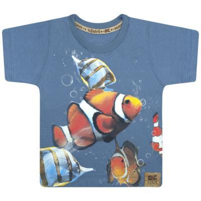 Imagem 1 do produto Camiseta em malha Peixinho - CDC T-Shirt - CMC0996 CAMISETA EM MALHA PEIXINHO-1