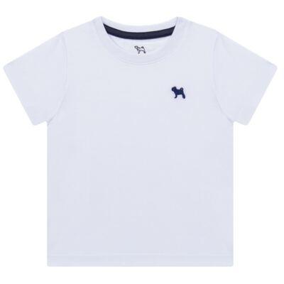 Imagem 1 do produto Camiseta em malha Branca - Charpey