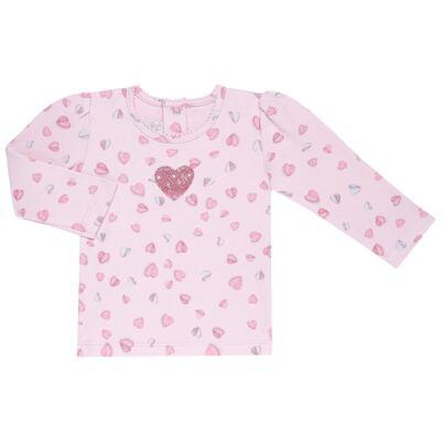 Imagem 1 do produto Blusinha manga longa para bebe em suedine Dolce Amore - Baby Classic - 58010004.23 BLUSINHA M/L- SUEDINE ESTAMPADO-2