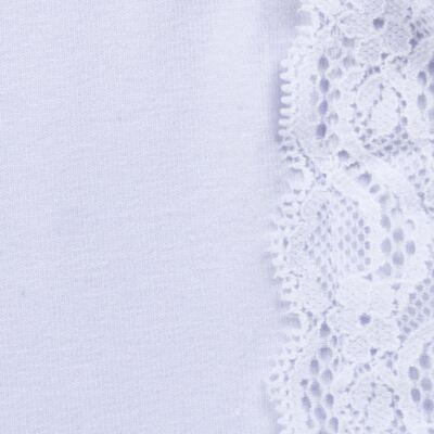 Imagem 2 do produto Blusinha em cotton Renda Branca - Charpey