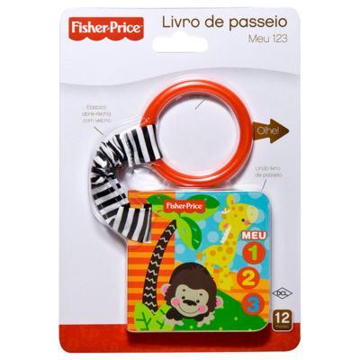 Imagem 1 do produto Livro de passeio Meu 1 2 3 (12m+) - Fisher Price