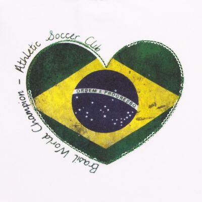 Imagem 2 do produto Blusinha manga longa para bebe em cotton Brasil - Baby Classic - 078353 BLUSINHA ML COTTON COPA-G