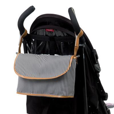 Imagem 5 do produto Mala maternidade com Rodízio + Bolsa Everyday + Frasqueira Organizadora Manhattan Azul - Masterbag