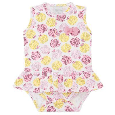 Imagem 1 do produto Body vestido para bebe em suedine Sweet Apple - Tilly Baby - TB183016 BODY FEM MAÇA-M
