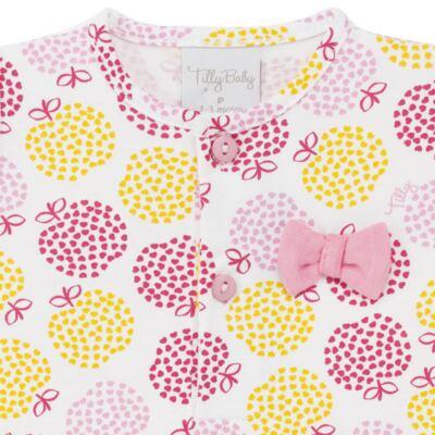 Imagem 2 do produto Body vestido para bebe em suedine Sweet Apple - Tilly Baby - TB183016 BODY FEM MAÇA-P