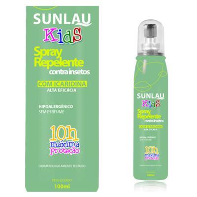 Imagem 1 do produto Repelente Sunlau com Icaridina Kids Spray 100ml