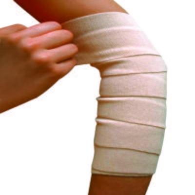 Imagem 1 do produto Atadura Elástica Bandagem Bege Bc110 Mercur - 15x120cm