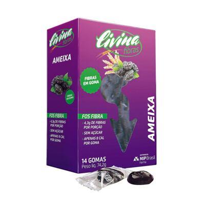 Imagem 1 do produto Livina Fibras  Ameixa 14 Gomas
