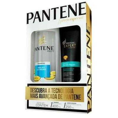 Imagem 1 do produto Kit Pantene Expert Shampoo 400ml + Condicionador 250ml
