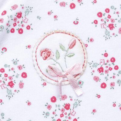 Imagem 2 do produto Macacão longo para bebe em algodão egípcio Holly - Piu-Piu - PIU912021.001 MACACAO COMP. FLORAL AQUARELA-P
