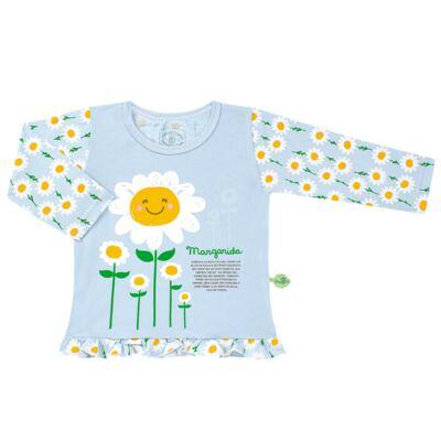 Imagem 2 do produto Pijama longo que Brilha no Escuro Little Daisies - Cara de Criança - L2073 MARGARIDA L PJ-LONGO M/MALHA -2