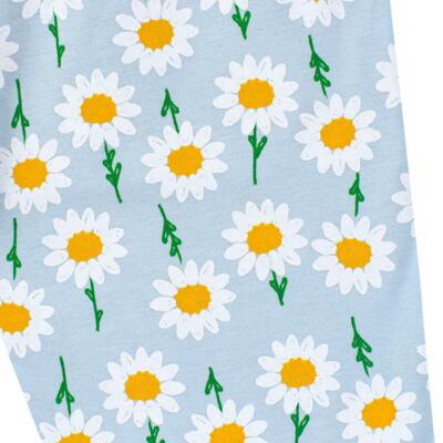 Imagem 7 do produto Pijama longo que Brilha no Escuro Little Daisies - Cara de Criança - L2073 MARGARIDA L PJ-LONGO M/MALHA -3