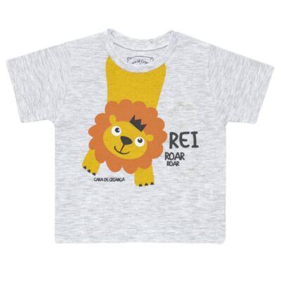 Imagem 2 do produto Pijama curto que Brilha no Escuro Lion - Cara de Criança - BC1943 REI LEÃO BC PJ - BB CURTA C/CALÇA M/MALHA-P